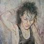 Natascha '03, Öl auf Leinwand 55 x 40 cm
