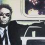 Tom Waits '09, Öl auf Leinwand 80 x 110 cm