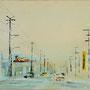 Direction East '02, Öl auf Leinwand 30 x 70 cm . . . verkauft