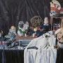Stilleben '11, Öl auf Leinwand 100 x 150 cm im Auftrag Dresdener SEMPEROPER, Spielsaison '11/12