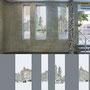 Gestaltung von 15 Fensterfolien für den Berliner U-Bahnhof BAYERISCHER PLATZ im Auftrag der BVG, Ansicht 3