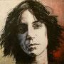 Patti Smith '05, Öl auf Leinwand 60 x 80 cm ___ verkauft
