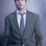 Robert Downey Jr. '11, Öl auf Leinwand 120 x 90 cm
