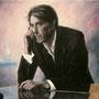 Bryan Ferry '07, Öl auf Leinwand 90 x 120 cm