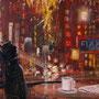 Market Street '09, Öl auf Leinwand 60 x 50 cm . . . verkauft
