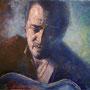 Bruce Springsteen '07, Öl auf Leinwand 80 x 110 cm