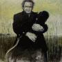 Johnny Cash '00, Öl auf Leinwand 120 x 100 cm