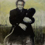 Johnny Cash '00, Öl auf Leinwand 120 x 100 cm, € 2.500,-