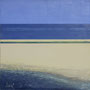 Sandbank '09, Öl auf Leinwand 90 x 90 cm, € 450,-