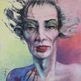 Portrait '05, Öl auf Leinwand 80 x 80 cm ___ verkauft
