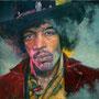 Jimi '07, Öl auf Leinwand 80 x 110 cm