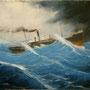 No Return '02, Öl auf Leinwand 60 x 70 cm