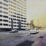 Sunset Boulevard '11, Öl auf Leinwand 60 x 60 cm . . . verkauft