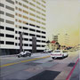 Sunset Boulevard '11, Öl auf Leinwand 60 x 60 cm ___ verkauft