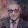 Elvis Costello '04, Öl auf Leinwand 60 x 50 cm