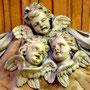 Trois anges au-dessus du tombeau du chanoine Lucas par Blasset