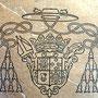 Armoiries du caveau des évêques