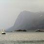Entlang der norwegischen Küste nach Ålesund.