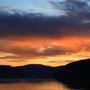 Sonnenuntergang bei Utvik
