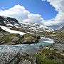wilde Bäche im Strynfjell