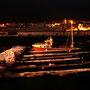 Vardø liegt schon um 17 Uhr im Finstern.