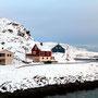 Hafenanlage bei Havøysund.