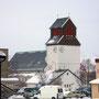 Zu Fuß gelangt man schnell nach Kirkenes.