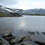 Felsen und Wasser im Strynfjell