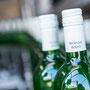 Weinflaschenfoto mit Spiegelung