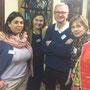 Soirée Via Energetica - Carole Bagourd, Rosana Marcis, Claude Rossillon, Marie Rossillon