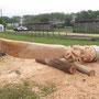 La sculpture prête : symbole des richesses de notre terroir