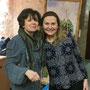 Marie Tazzi (Librairie Savoir Etre) et Rosana Marcis (Via Energetica)