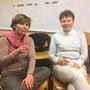 Soirée Via Energetica pour fêter la nouvelle année - 2017 - Agnès Le Moigne et Nicole Buscot