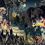 DIE FRIEDLICHE ENTSPANNUNG, 105 x 73 cm, Fotomontage, 2014