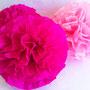 pompón-seda-fucsia-rosa