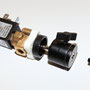 Magnetventil inkl. Halteplatte, Kugelkopf und Rändelschraube