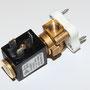 Magnetventil auf Montageplatte montiert