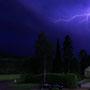 Gewitterfotografie mit dem triggie pro. Auslösung per Photodiode auf den Blitz. Belichtungszeit 1,3s f/6,3 ISO320