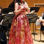 ソプラノの手島由紀子さんが参加され「花は咲く」を最後に歌われ、舞台が華やかになりました。