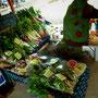 豊富な野菜
