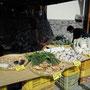 エミちゃんファーム「山菜おこわと採りたて野菜」