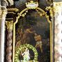 """Hauptaltargemälde """"Die Taufe Jesu durch Johannes"""""""
