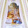Maria Verkündigung, Fresko in der Kuppel