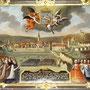 Votivbild mit Bezug zu einer Feuerkatastrophe 1787