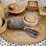 Tischsets, Glasuntersetzer ... aus feinem Lombokgras
