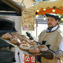 Bäckerei Weißbach Team › Mobiler Holzbackofen