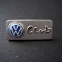 Volkswagen Club Pin VW Ball - silbern