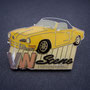 VW Scene International Pin Karmann Ghia