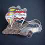 Volkswagen meeting chateau d'oex 1993 Pin silbern