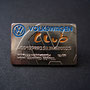 Volkswagen Club Card Pin - Manfred Burkel glatt